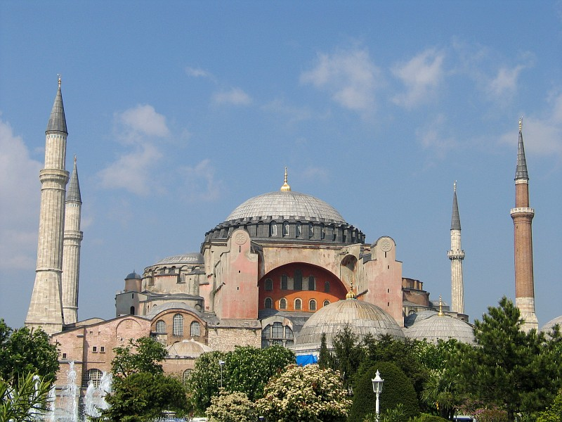 Erdogan tells Greeks on National Day: We will convert Hagia Sofia into mosque