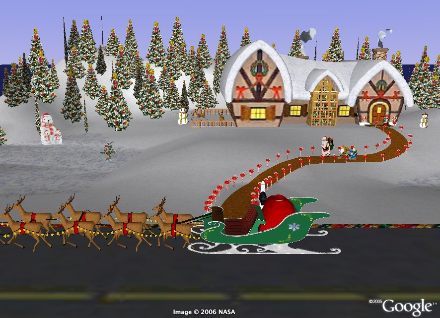 santa claus tracking. There is a big chance to track him live as the NORAD radar will closely