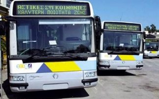 Athens Blue Bus workers on 6h work stoppage due to union general assembly