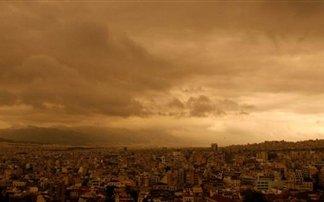 Athens smog Sahara-dust