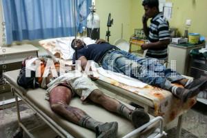 Manolada migrants shot