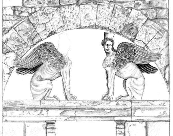 Amphipolis Sphinxes wings2