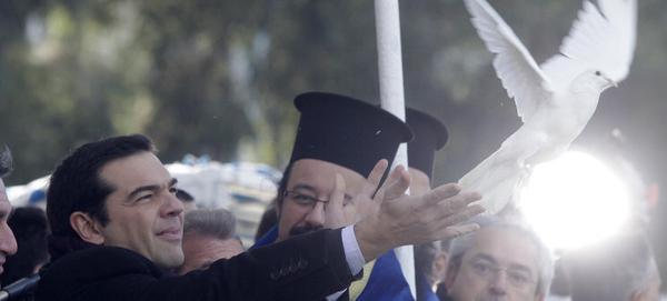 Tsipras dove