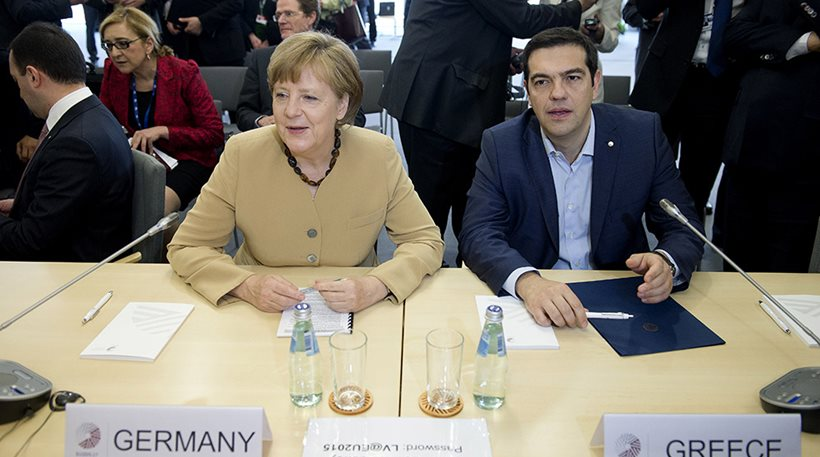 Tsipras speaks on the phone with Merkel about Turkey's aggression in the Aegean & FYROM name issue