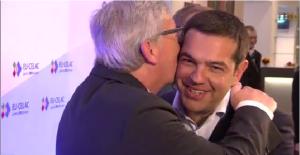 juncker tsipras kiss
