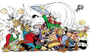 asterix fight