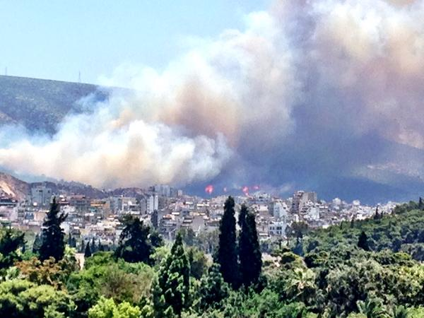 fire athens