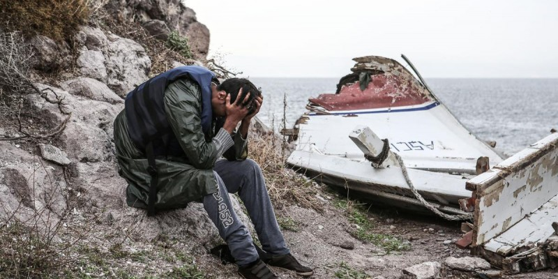 At least 16 dead when boat with refugees capsizes in the Aegean Sea