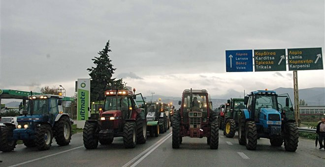 farmers protests Greece