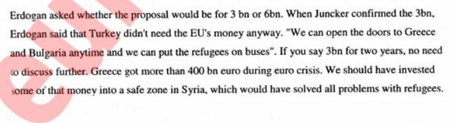 Turkey EU refugees