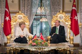 erdogan golden throne
