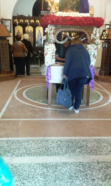 good friday epitaphios in church