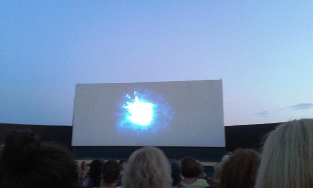 Floisvos open-air cinema, Palaio Faliro, Athens