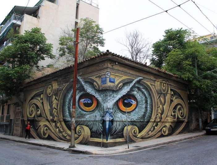 athens-graffiti-owl