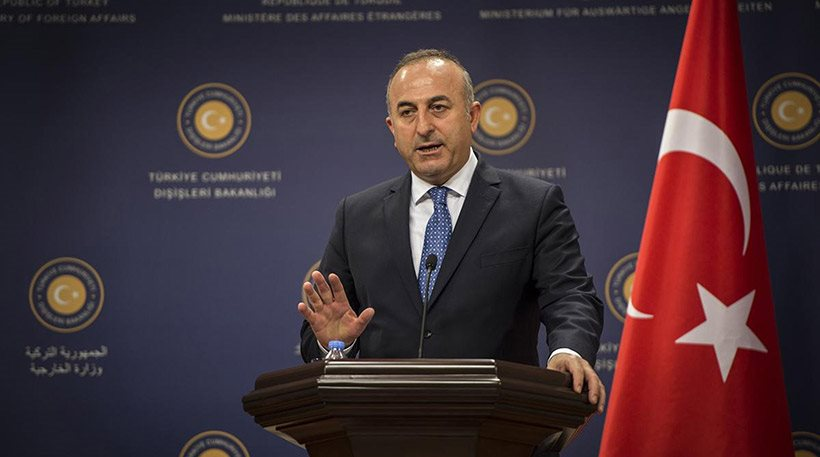 Turkish FM claims there are no sea borders between Greece and Turkey