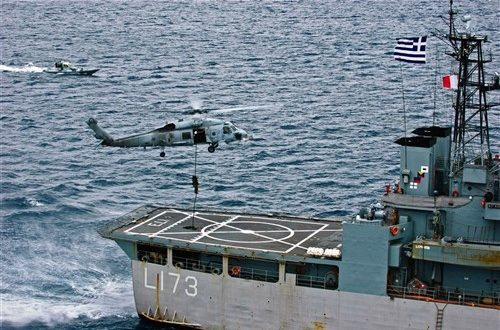 Greek Navy opens doors to warships and submarine to public, Mar 24-26/2017