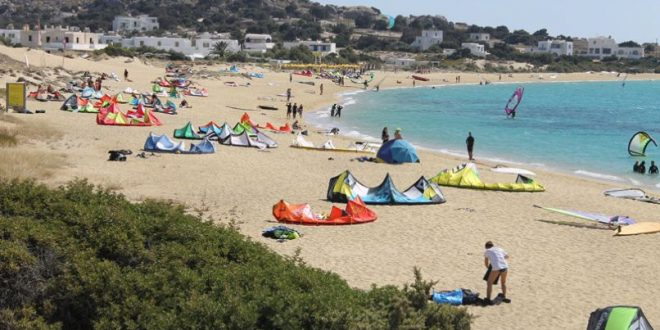 Austrian tourist suffers serious injuries in shocking kite surf accident on Naxos