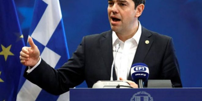 "PM Tsipras receives Awards for ""Political Courage"" and ""European Commitment"""