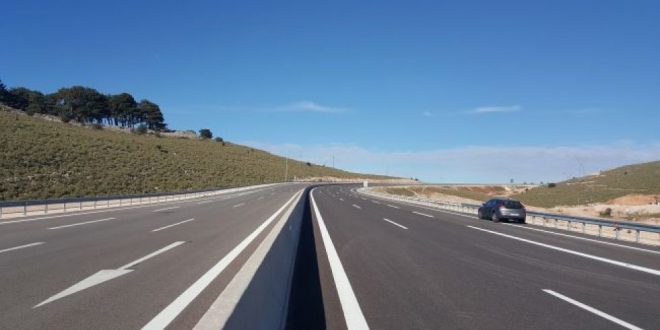 New section opened in Ionian Highway drastically reduces time for motorists
