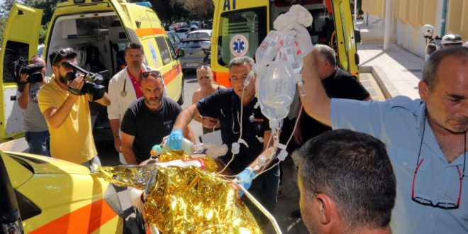 Kos Earthquake: Seriously injured Greeks and tourists flown to hospitals in Athens & Crete