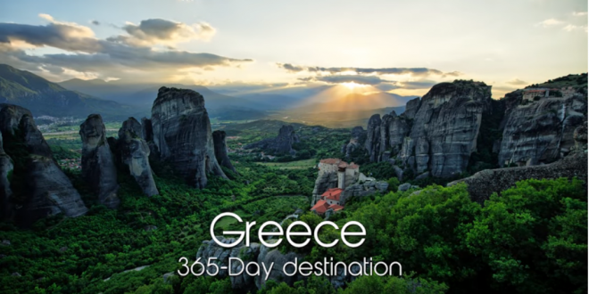 """365-Day Destination"" Video captures the magic moments of Greece"