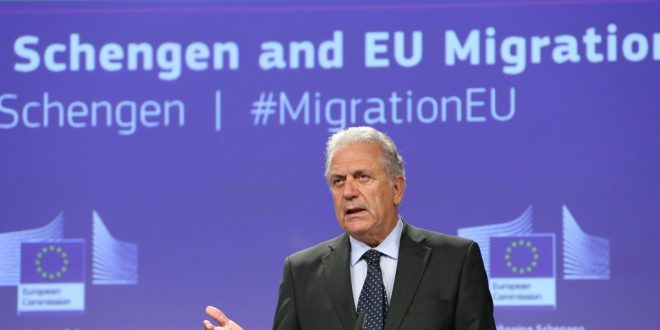 "EU Migration Commissioner attacks Tusk's quotas plans as ""anti-European"" and ""unacceptable"""