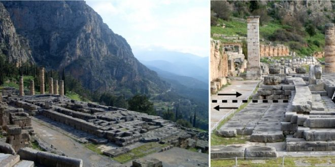 Earthquake faults may have played key role in Ancient Greek sanctuaries