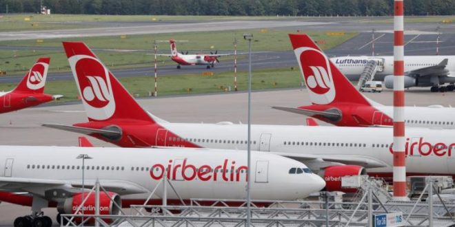 Insolvent carrier Air Berlin to cease operation by Oct 28/2017
