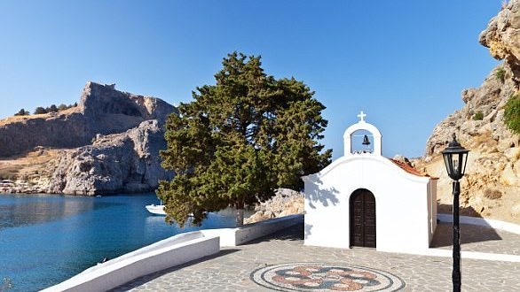 Foreign weddings banned in Lindos after Brit couple performs sex act outside church