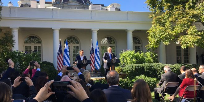 Remarks by President Trump and PM Tsipras in joint press conference
