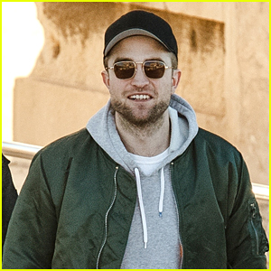 Robert Pattinson tours the Acropolis before attending Good Time premiere in Athens