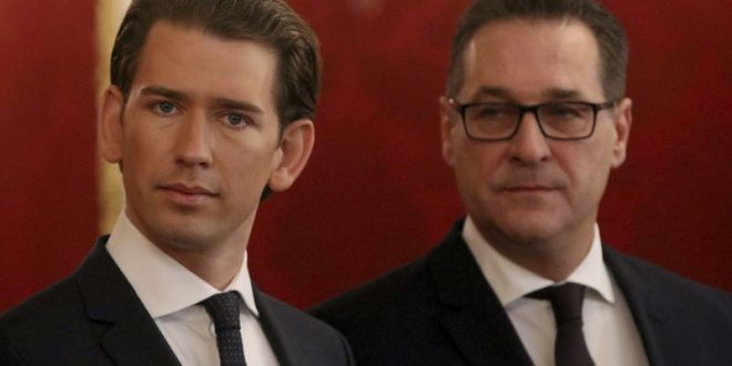 Center-Right and Far-Right in Austria's anti-migration coalition government