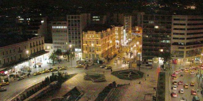 Mysterious suicide committed by a foreign national jumping from hotel in downtown Athens