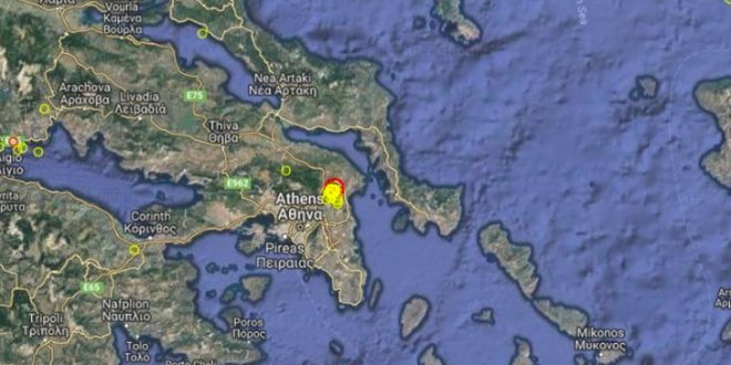 Earthquake 4.5R rattles Athens, causes concern among residents due to powerful tremor