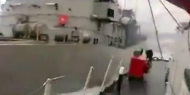 "Turkish Coast Guard releases footage of Imia incident, claims ""harassment"" by Greek gunboat (video)"
