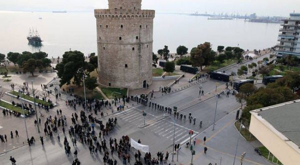 """Majority of Greeks reject """"Macedonia"""" in FYROM name, as thousands flock to Thessaloniki rally"""