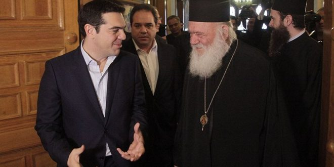 "Atheist Tsipras allies with the Church of Greece over the ""Macedonia"" issue"