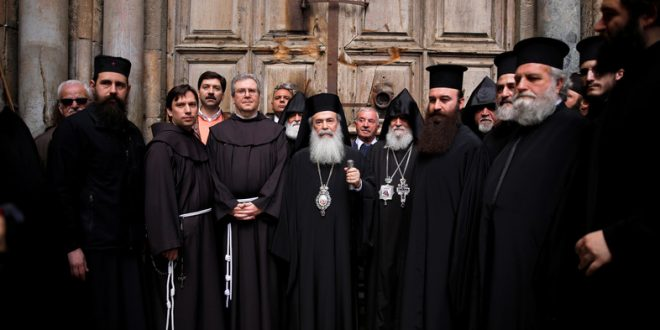 Tax protest: Church leaders shut Church of the Holy Sepulchre in Jerusalem