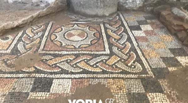 Amazing Mosaics have been discovered in Thessaloniki (videos)