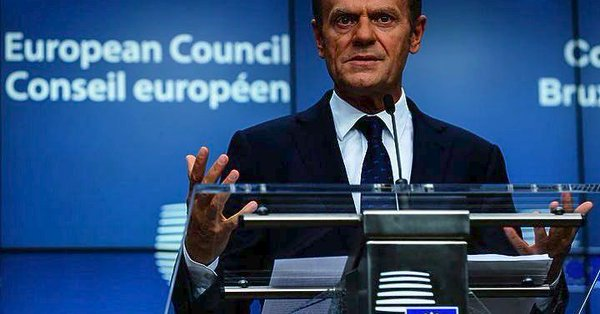 EUCO President Tusk calls on Turkey to terminate activities in Greece's Aegean and Cyprus EEZ