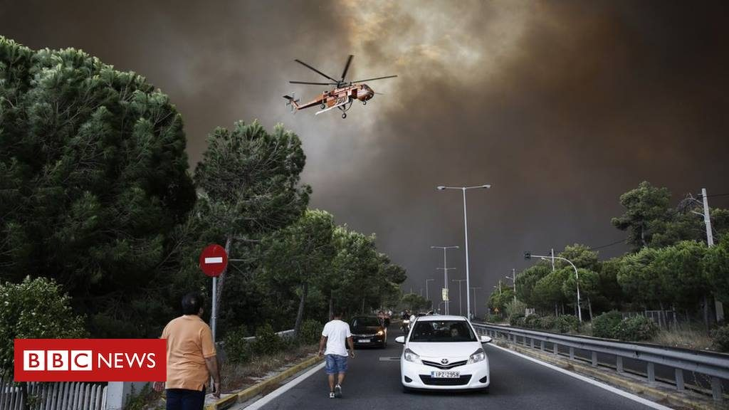 UPD Death toll rises to 90 after Athens wildfires victims