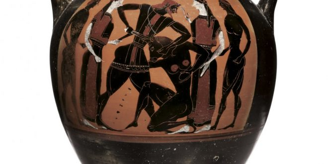"Ancient Greek Amphora of ""disputed ownership"" to be auctioned in New York"