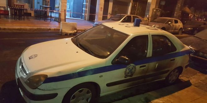 Anarchists attack police station in Athens, injure 4 policemen