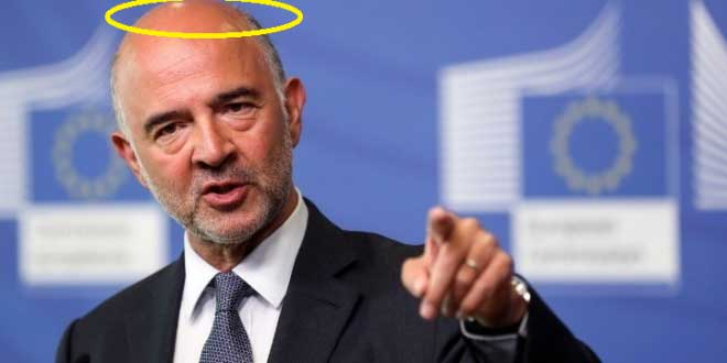 """Primary surpluses are too high,"" says Moscovici, blames IMF, Greek gov't"