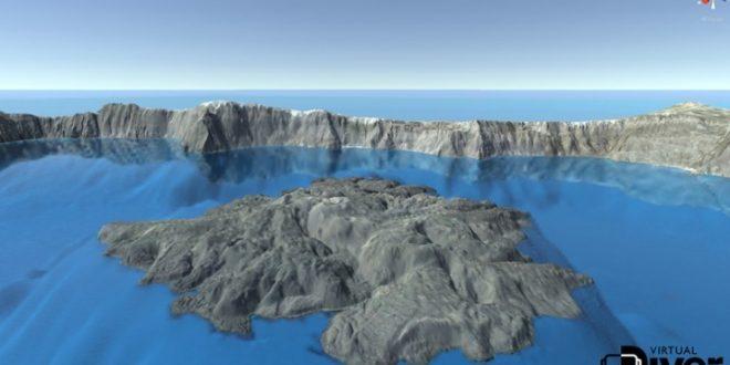 VirtualDIVER: Innovative platform for underwater experience around Santorini