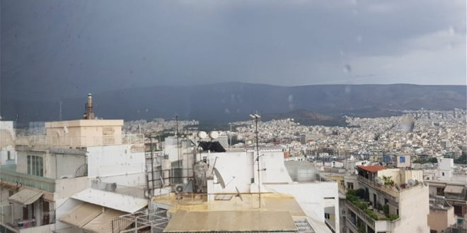 Heavy rain and hail-fall strike Athens in mid June (videos) - Keep Talking Greece